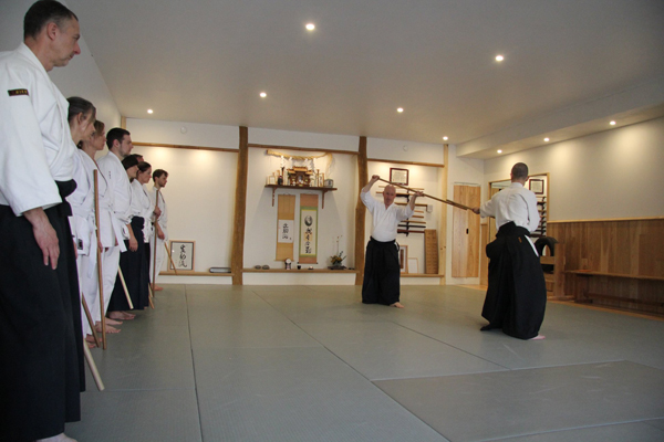Copenhagen Aiki Shuren Dojo fall and winter training schedule 2019-2020